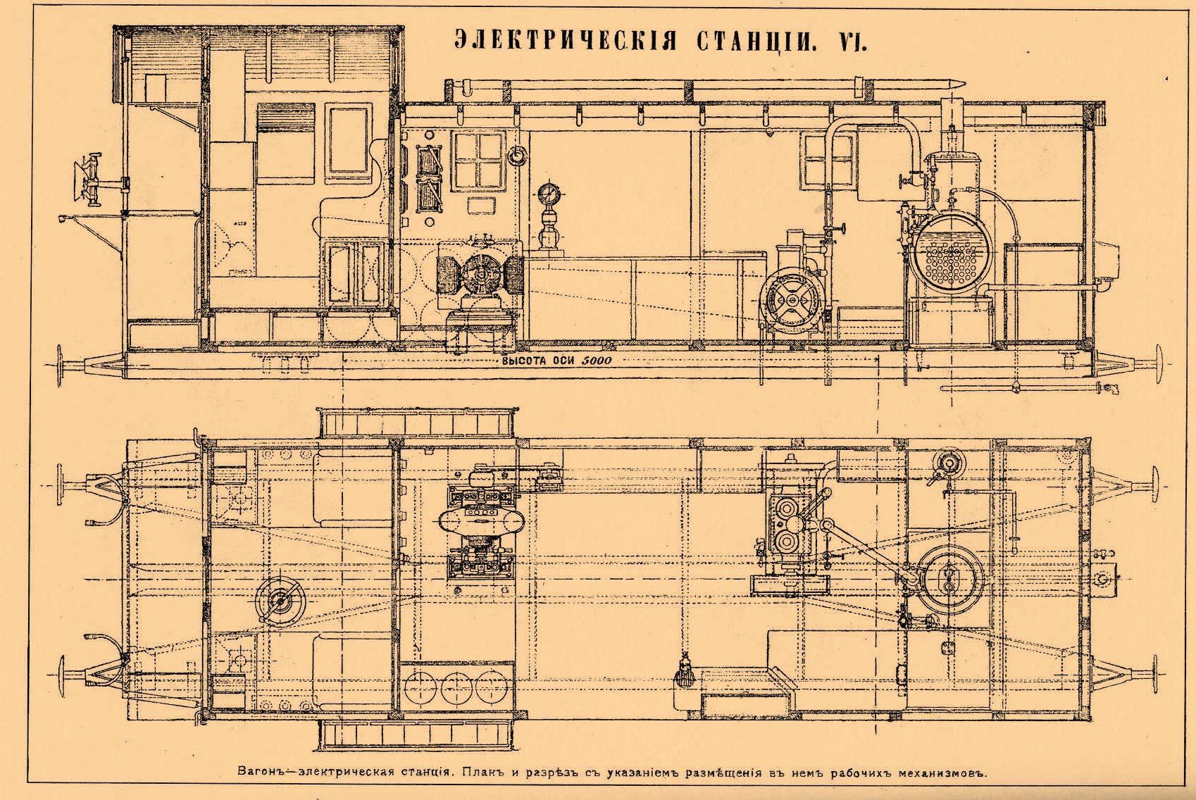 схема станций электрических